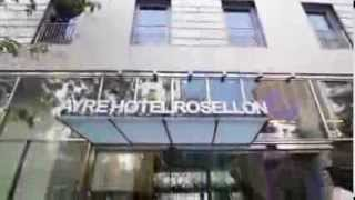 preview picture of video 'Ayre Hotel Rosellon, Gay Friendly, Eixample, Barcelona - Gay2Stay.eu'