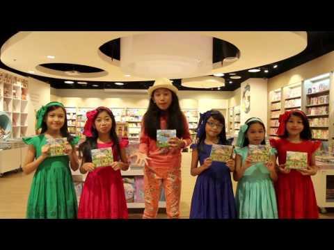 Video Calista Amadea ft. Lovely Kids - Undangan Launching Lagu Anak Di Gramedia (Video Blog)