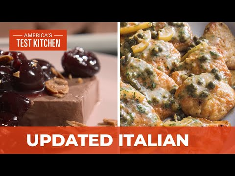 How to Make Updated Italian Classics Like Chicken Piccata and Chocolate Semifreddo