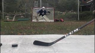 CCM FT3 Shots on a Goalie