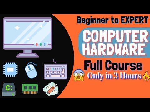 Learn Computer Hardware Full Course in One Video   Beginner to Expert level   [HINDI]
