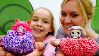 Возвращаем феям Глиммис свет! Видео с игрушками для девочек.