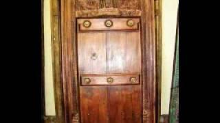 Antique Wooden Indian Doors And Windows