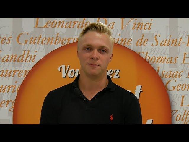 Interview – Maxime Perez, Sportif de Haut Niveau – Bachelor