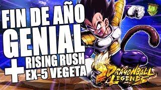 FIN DE AÑO BESTIAL! VUELVEN TODOS LOS EVENTOS + RISING RUSH EX 5 VEGETA | DB Legends en Español