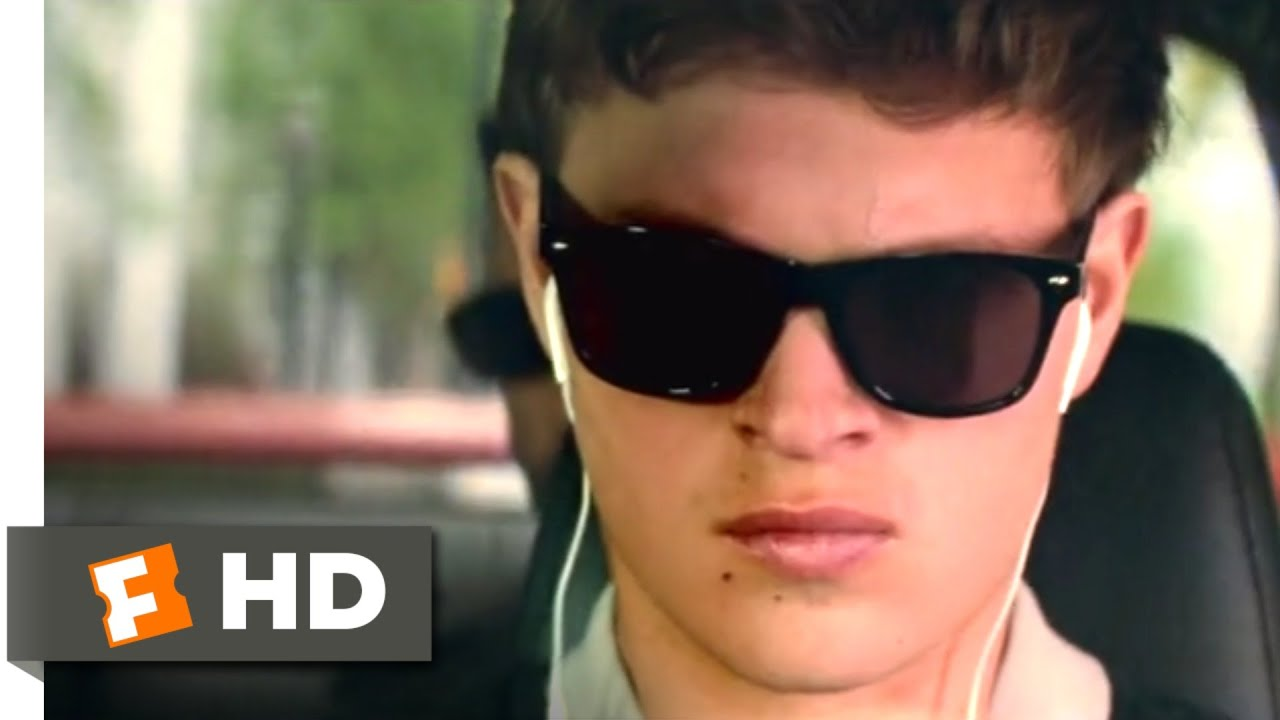 Video trailer för Baby Driver (2017) - Blues Explosion Chase Scene (1/10) | Movieclips
