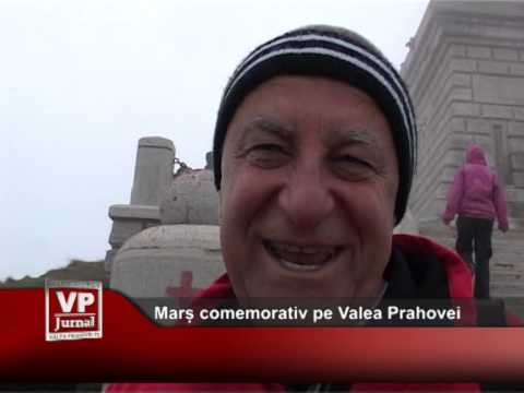 Marș comemorativ pe Valea Prahovei