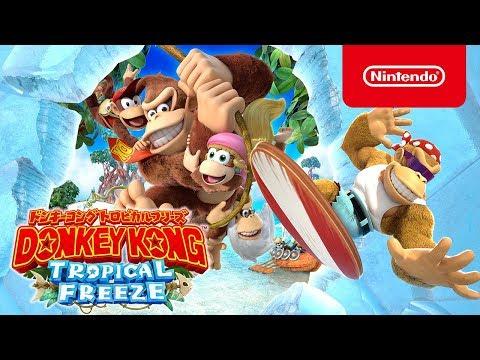 Donkey Kong Country : Tropical Freeze - Près de 4mn de gameplay de Donkey Kong Country : Tropical Freeze