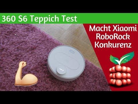 360 S6 Saugroboter - Der Teppich Test [DEUTSCH]