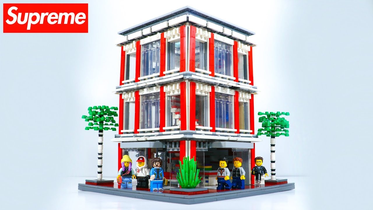 Custom LEGO SUPREME Store MOC