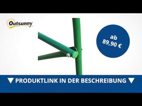 Outsunny Folien Gewächshaus Treibhaus Frühbeet Tomatenhaus 450*200*200cm - direkt kaufen!
