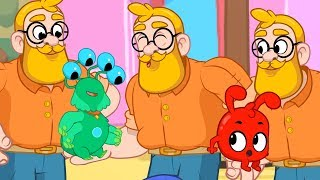 Double Daddy - My Magic Pet Morphle | Cartoons For Kids | Morphle's Magic Universe |