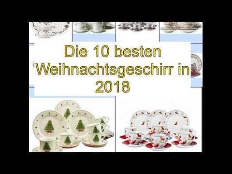 Die 10 besten Weihnachtsgeschirr in 2018