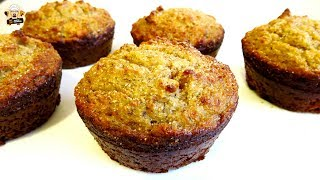 muffins made with almond and coconut flour