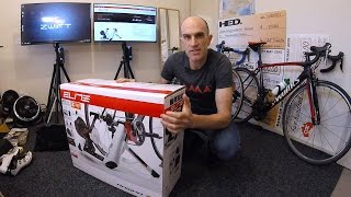 ELITE RAMPA SMART TRAINER: Unboxing. Building. First Ride.