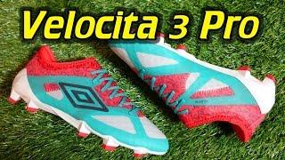 Umbro Velocita 3 Pro - Review + On Feet