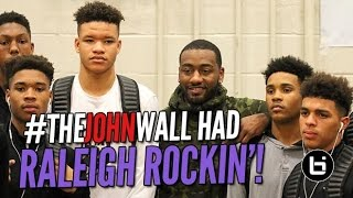 #TheJohnWall has the BEST Atmosphere in High School Basketball! Official Recap!