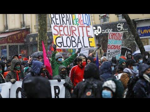 Γαλλία: Διαδηλώσεις κατά του νόμου για την ασφάλεια