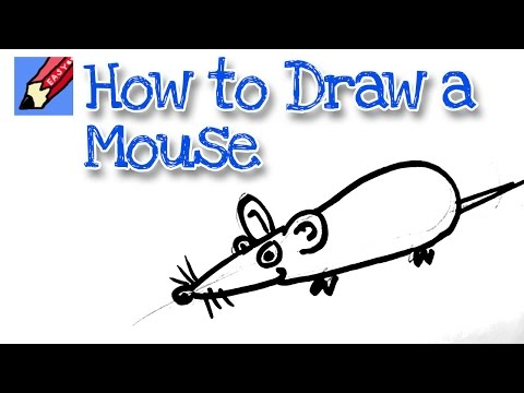 How to draw a computer mouse | Shoo Rayner - Author