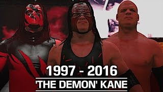 WWE 2K17: The Evolution of Kane (1997 - 2016)