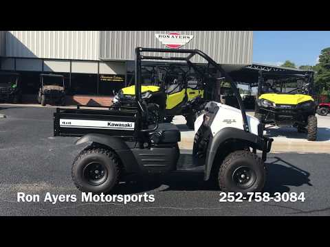 2019 Kawasaki Mule SX 4X4 SE in Greenville, North Carolina - Video 1