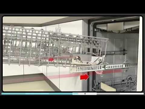 Video-Bedienungsanleitung Geschirrkorb Bosch Geschirrspülmaschine