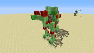 The ghast missile tutorial minecraft slime block mob missileps slime block robot mech tutorial with cannon ccuart Image collections