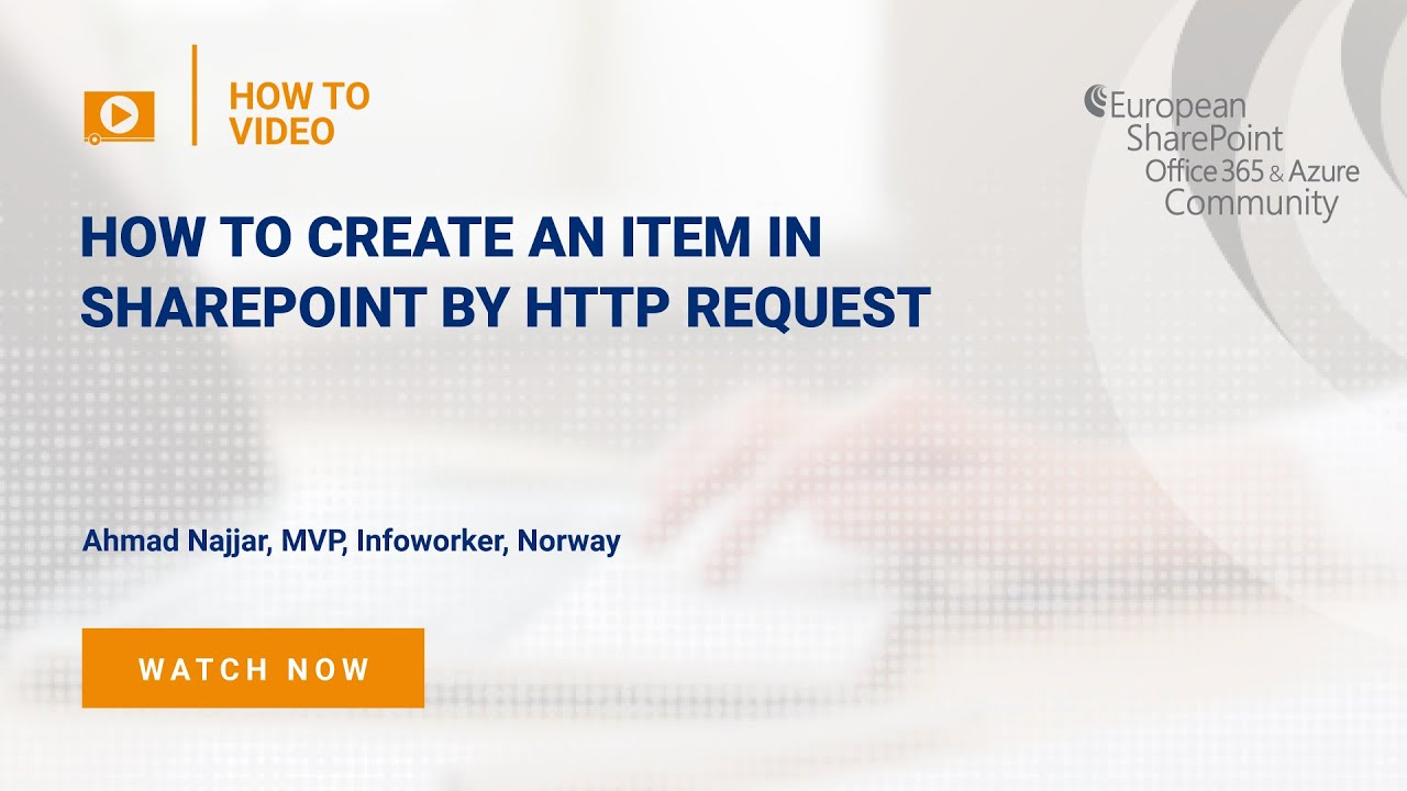 How To create an item in SharePoint by HTTP Request