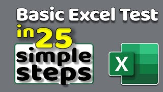 Get Ready for Excel Interview & Indeed Excel Assessment Test - Step By Step Tutorial