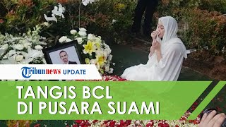 Video BCL Menangis di Pusara Ashraf Sinclair, Sang Ayah: Bunga, Terima Kasih Mencintai Anak Saya
