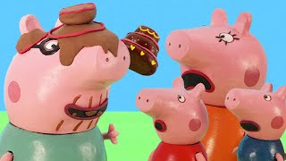 Peppa Pig Official Channel | Making a Chocolate Birthday Cake with Peppa Pig