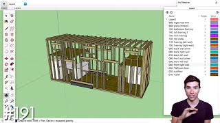 HOW WE'RE DESIGNING OUR TINY HOUSE FROM SCRATCH IN SKETCHUP