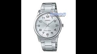 Видео обзор наручных часов Casio MTP-V001D-7B