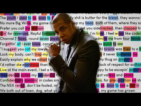 JAY-Z - Can I Live   Rhymes Highlighted
