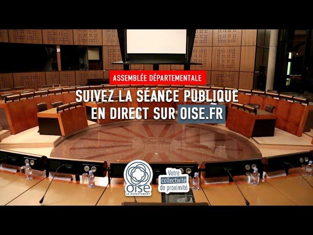 Assemblée départementale du lundi 21 septembre 2020