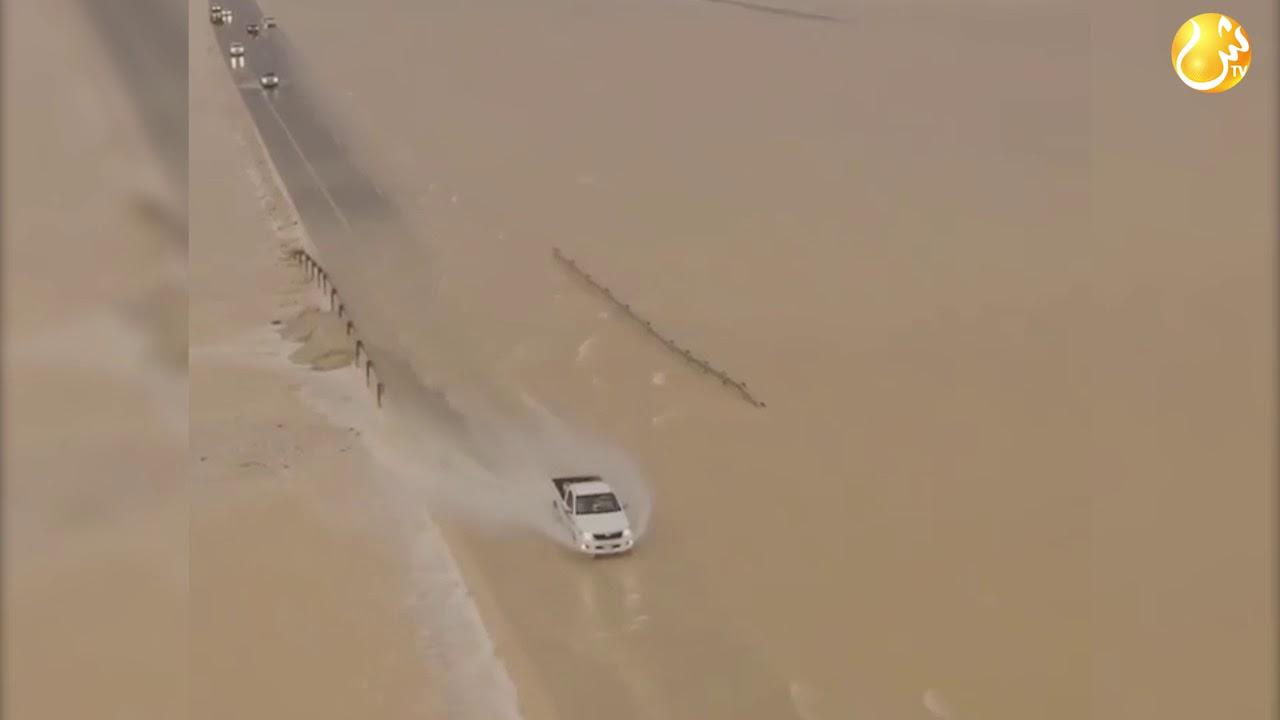 Назапускали спутников ! Наводнение в пустыне на Аравийском полуострове...