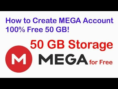How to create mega account on android phone