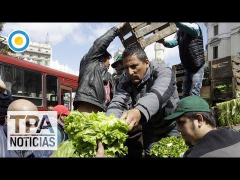 Enfrentamiento entre la Policía y feriantes que organizaban un