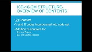 ICD10 Overview