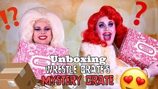 UNBOXING WRESTLE CRATE'S MYSTERY CRATE | QUEENS OF THE RING
