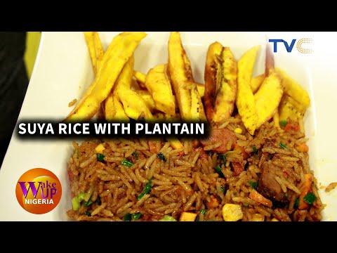 The Best Rice! Suya Rice Prepared By Chef Korede Spaghetti