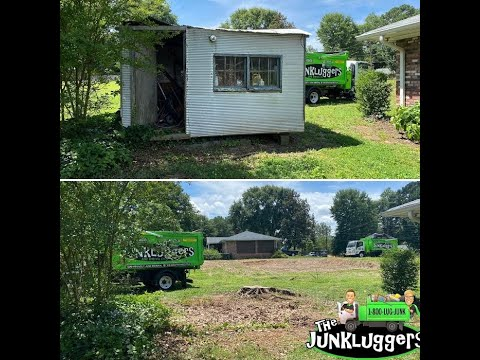 Shed Removal in Alpharetta