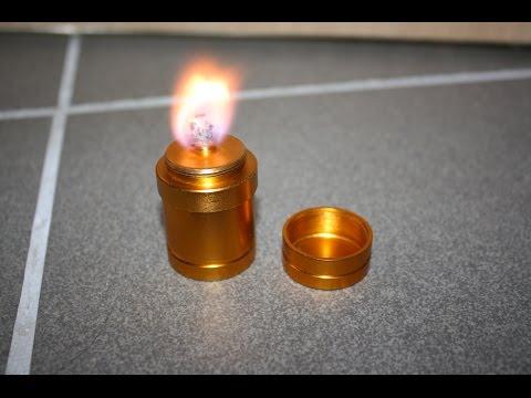 Spiritus Mini Kerze Laterne Kocher Petroleumlampe