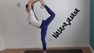 Learn Yoga King Dancer Pose Natarajasana With Shana Meyerson YOGAthletica