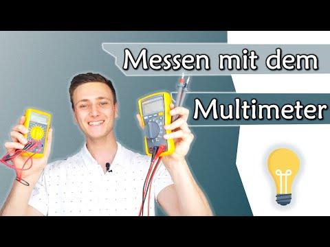 Spannung, Strom und Widerstand mit dem Multimeter messen - Tutorial | Gleichstromtechnik #6