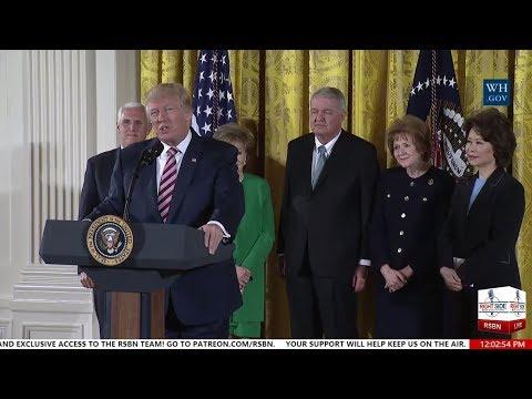 President Trump Announces Air Traffic Control Reform Initiative 6/5/17