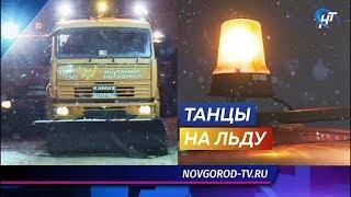 Зампрокурора Великого Новгорода Татьяна Дубровина нагрянула с инспекцией на базу Спецавтохозяйства