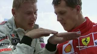 Смотреть онлайн Топ 10 лучших обгонов Формулы 1