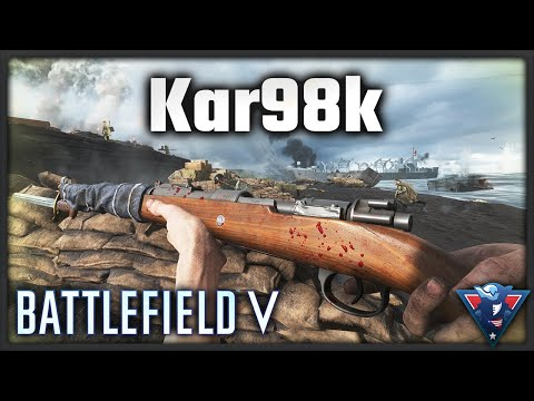 BEST BOLT ACTION RIFLE || Battlefield V - War in the Pacific Gameplay (Kar98k)