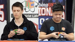 CubingUSA Nationals 2018 3x3 Finals!